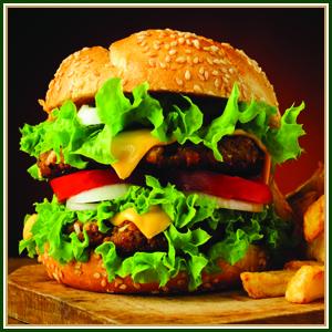 چاشنی همبرگر